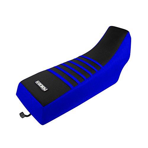 Atv Banshee Parts (Enjoy MFG 1987-2006 Yamaha Banshee Blue Sides/Black Top/Blue Ribs Seat Cover (ATV))