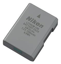 Nikon 27126 En-el 14a Rechargeable Li-ion Battery (Grey)