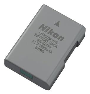 Nikon 27126 EN-EL 14A Rechargeable Li-Ion Battery (Grey) (B00FXYTLIK) | Amazon Products
