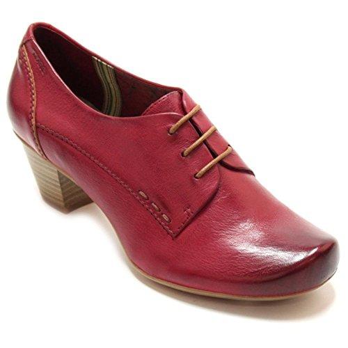 Femme Rouge Chaussures De Lacets Pour Rot Banja Marc À Ville 1F77Hq
