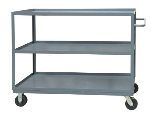 Durham 14 Gauge Steel Rolling Service Stock Cart, RSC-1830-3-95, 1200 lbs Capacity, 18