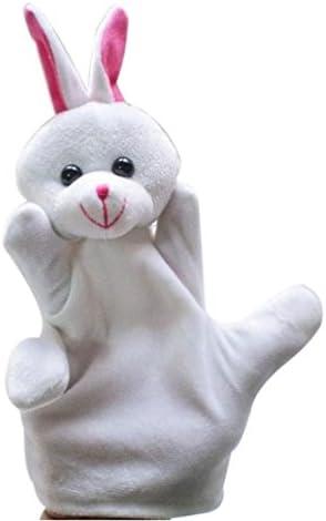 [해외]Fullkang Cute Big Size Animal Glove Puppet Hand Dolls Plush Toy Baby Child Zoo Farm Animal Hand Glove Puppet Finger Sack Plush Toy Finger Puppets Rabbit / Fullkang Cute Big Size Animal Glove Puppet Hand Dolls Plush Toy Baby Child Z...