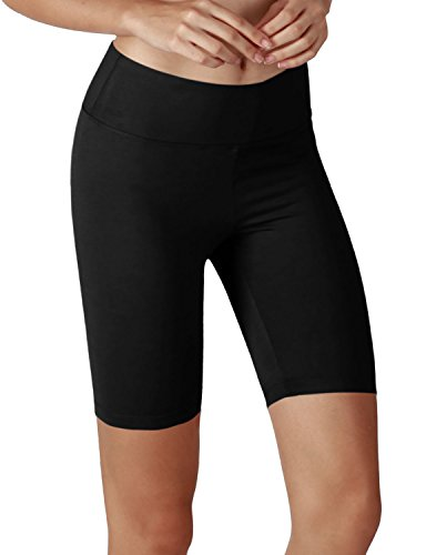 Yoga Women's Tummy Control Fitness Workout Running Yoga Shorts (S 3XL)