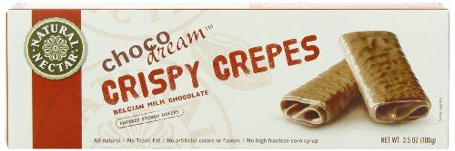 Natural Nectar Crispy Crepes Belgium Milk Chocolate, 3.5-Ounce (Pack of - Online Belgium