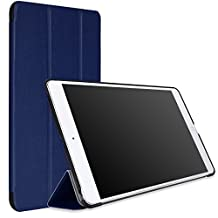MoKo iPad Air Case - Ultra Slim Lightweight Smart-shell Stand Case Apple iPad Air / iPad 5 9.7 Inch 2013 Tablet, INDIGO (With Auto Wake / Sleep, Not fit iPad Air 2 2014)