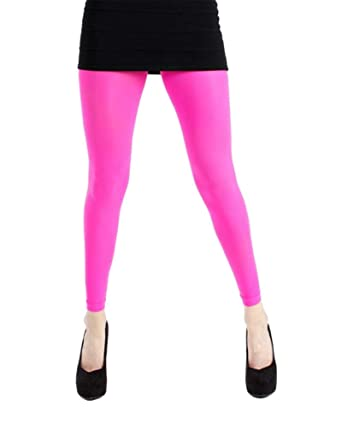 c77678b7fc1a0 Pamela Mann 50 Denier Neon Footless Tights-Flo Green-One Size: Amazon.co.uk:  Clothing
