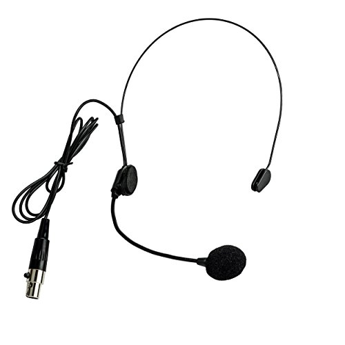 Price comparison product image Nady HM-5U Unidirectional Condenser Headworn Microphone - For singing and speaking,  adjustable boom microphone,  mini-xlr connection