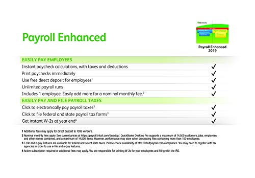 does quickbooks desktop pro include payroll
