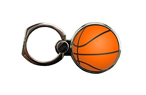 Basketball Round Ring - Phone Holder Stand in Silver - by Jack Outlet Inc. TM