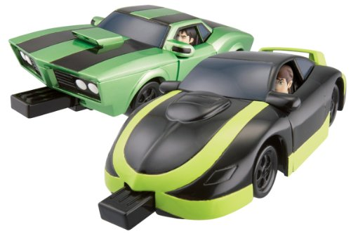 Ben 10 Vehicles - Ben 10 Mark 10 And Kevin's Cruiser (Mix And Match)