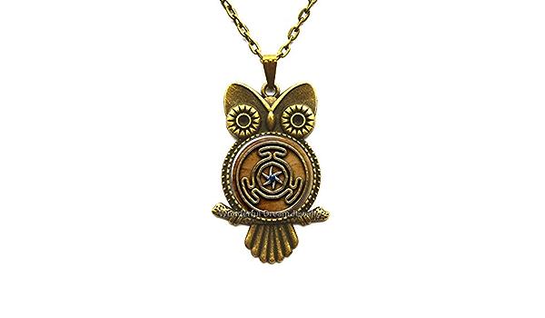 Waozshangu Wheel of Hecate Symbol Jewelry Glass Cabochon Bracelet Unique Jewelry Mens Jewellery,PU191
