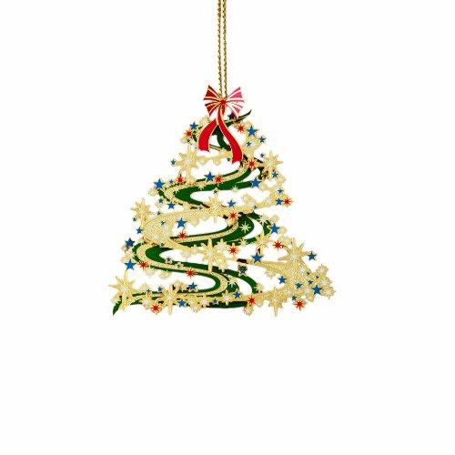 Contemporary Christmas Tree.Contemporary Christmas Tree Ornament