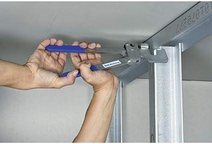 Pomo 4003982055521 verkrimpen de perforación de metal de perfiles con 2 caras sello, krimp de alicate con tope entre las asas: Amazon.es: Bricolaje y herramientas