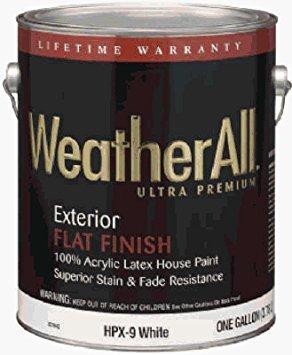 True Value HPXP-5G Premium WeatherAll Pastel Flat Base for Exterior, 5-Gallon