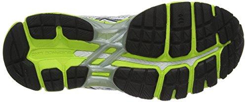 ASICS Gel-Kayano 21 - Zapatillas de deporte para mujer Blanco (White / Lightning / Flash Yellow 191)
