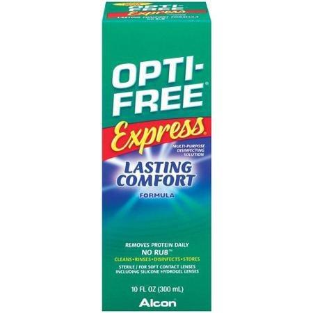 Opti Free® Express - Contact Lens Solution - 10 oz. - Liquid