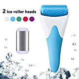 Facial Pain With Cold - Ice Roller,SPANLA 2 Ice Rollers for Face & Eye,Puffiness,Migraine,Pain Relief and Minor Injury. (Blue)