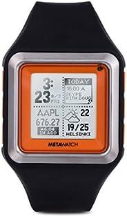 Meta Watch Ltd MW3002 Strata-tangerine