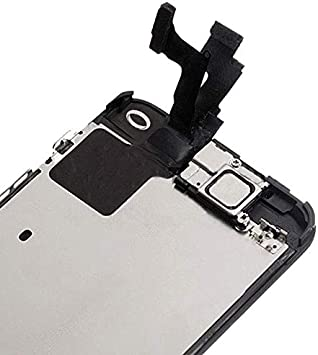 Trop Saint/® Display Wei/ß kompatibel mit iPhone SE Ersatz Bildschirm Reparaturset Kompatibel iPhone mit Magnetische Schraubenkarte Werkzeug Anleitung und Bildschirmschutzfolie