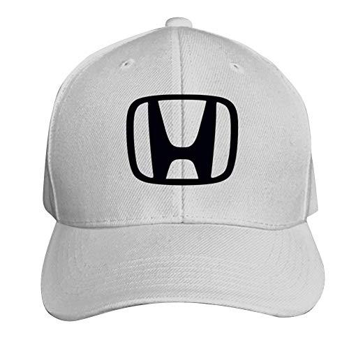 Yshoqq Unisex Baseball Cap Hon-da Logo Trucker Cap Dad Hat White