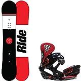 Ride Agenda 159 Mens Snowboard + Sapient Wisdom Bindings - Fits US Mens Boots Sized: 8,9,10,11,12