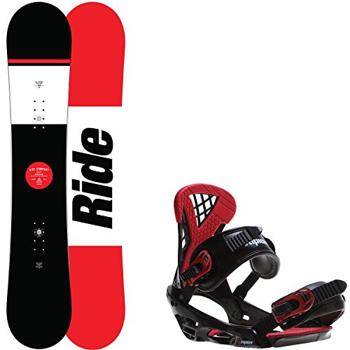 Ride Agenda 159 Mens Snowboard + Sapient Wisdom Bindings - Fits US Mens Boots Sized: 8,9,10,11,12 ()
