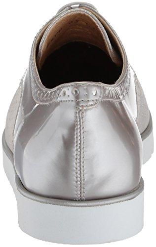 Silver Stringate Scarpe Derby Donna D D Geox Kookean Beige WqwHvPBxR8