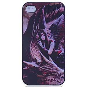 JJE Lureme Beauty and the Beast Pattern Hard Case for iPhone 4/4S