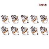 10 Pcs Black Wall Hooks, Multi-Function