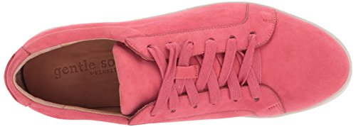 Gentle Anime Womens Haddie Lace Up Platform Zeppa Sneaker Coral
