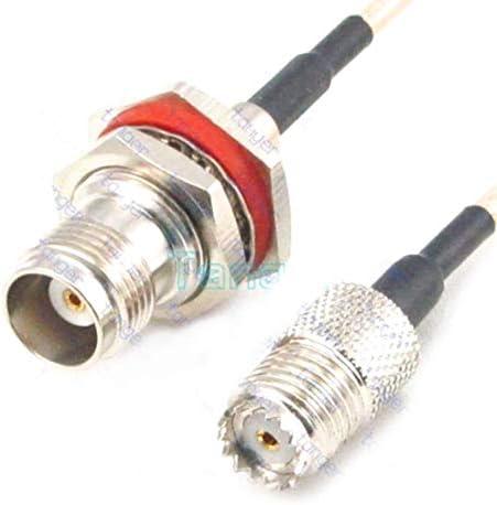 RG316 MINI UHF FEMALE to SMA MALE Coaxial RF Cable USA-US