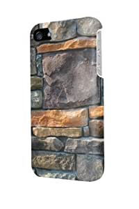 ip50307 Wallpaper decorative stone cladding Glossy Case Cover For Iphone 5/5S by Maris's Diary