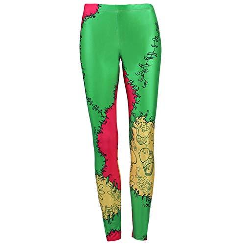 cinnamou Pantalones Mujer, Pantalones De Halloween Pantalon ...