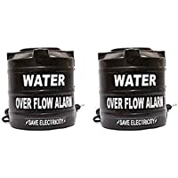 Celebrave Combo Pack of 2 Water Tank Overflow Alarm with Voice Sound (Pack of 2)