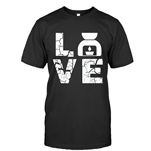 Essential Oil Cool Tee Shirt Design - Love Essential Oil T-Shirt For You and Family. Unisex (XXL,Black)
