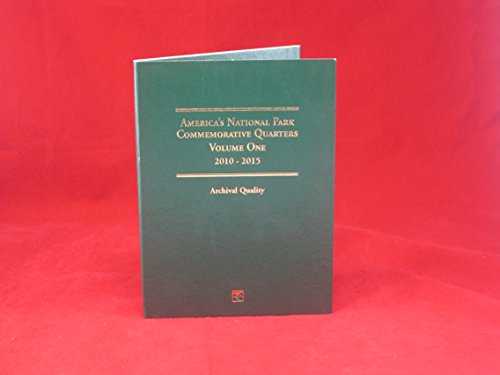 2 Littleton Coin Folders: National Park Quarters Vol 1