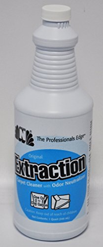 Super N Original Extraction Carpet Cleaner with Odor Neutralizer 1 Quart. - Water Extraction Carpet Cleaner