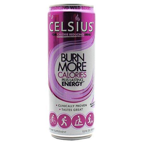 Celsius Celsius Sparkling Wild Berry 12 - 12 fl oz (355mL) Cans by Celsius Inc.