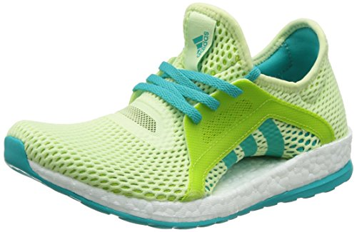Vert de Foot Femme Semi Turquoise Solaire Vert adidas X Pureboost Boue Halo Chaussures Blanc Multicolore Impact 1t8fw