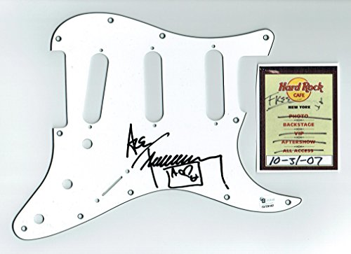 Ace Frehley Kiss Autographed Signed Guitar Pickguard Certified Authentic COA