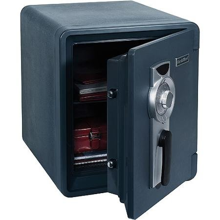 First Alert 2087F 0.94 Cubic Foot Water, Fire, and Theft Combination Safe