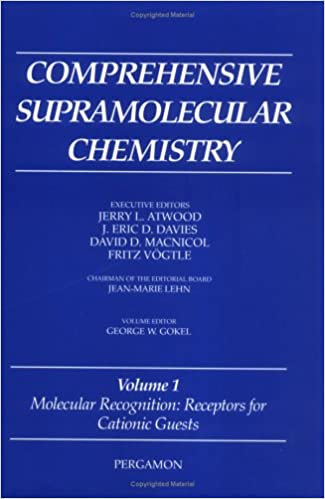 Molecular Recognition: Receptors for Cationic Guests: Volume 1: Vol 1