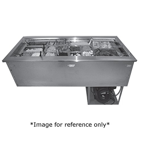 Drop In Unit 3 Pan (Randell 9943FA Drop-In Refrigerated Cold Food Unit 43.4