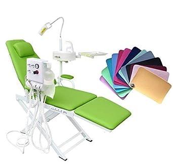 Amazon.com: superdental portátil silla plegable unidad móvil ...