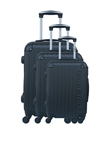 3 Rigido Bd Trolley Set Nero 12705 Bluestar fwq066
