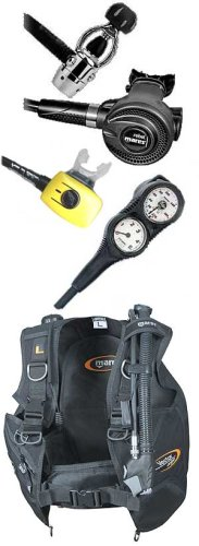 Scuba Gear Package - JoeDiver's Economical Regulator, Octo, BC and Gauges, Large