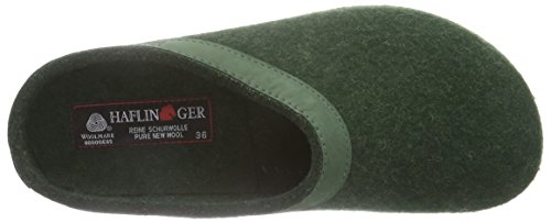 Mixte 35 Haflinger Chaussons Vert Eibe Adulte Torben Mules ttO8aq