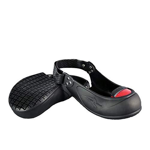 Tiger Grip Visitor Safety Cap Overshoe w/Toe Cap for Safe Visits. Size 5.5-13 (Medium - Covers Toe Shoe Steel