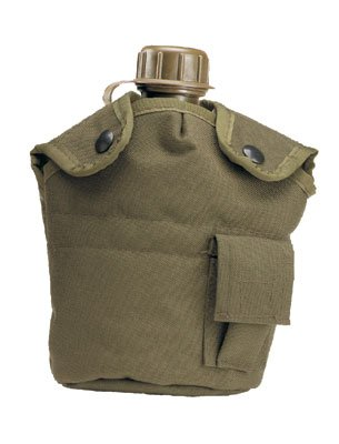 - Rothco Enhanced Nylon 1Qt Canteen Cover, Olive Drab Size