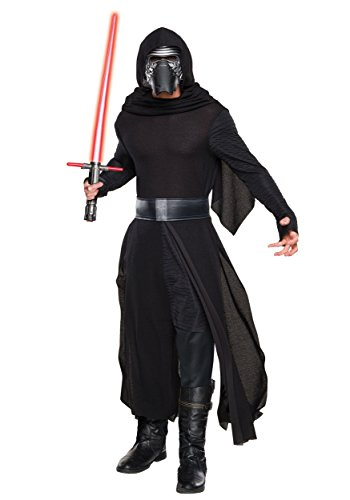 Tuxedo Mask Costume Cape (Adult Deluxe Star Wars Ep. 7 Kylo Ren Villain Costume - M)